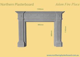 Adam Fire Place